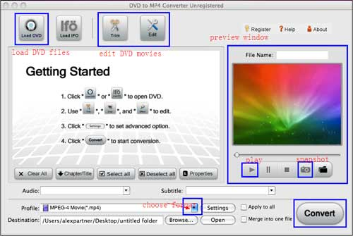 mac dvd to mp4 converter