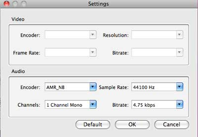 how to choose flv in adobe media encoder
