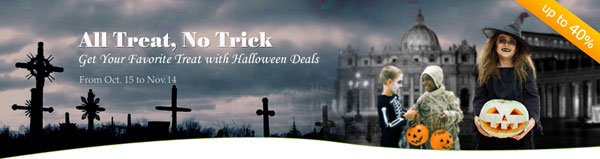 Halloween special offer for best mac software