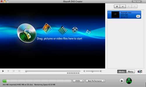 convert videos to DVD-free download DVD creator for Mac