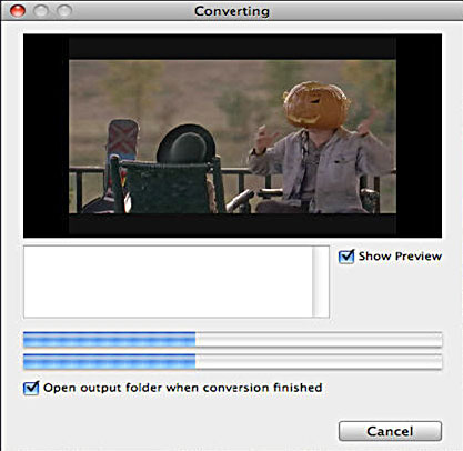 convert DVD video movies free and fast on Mac OS X