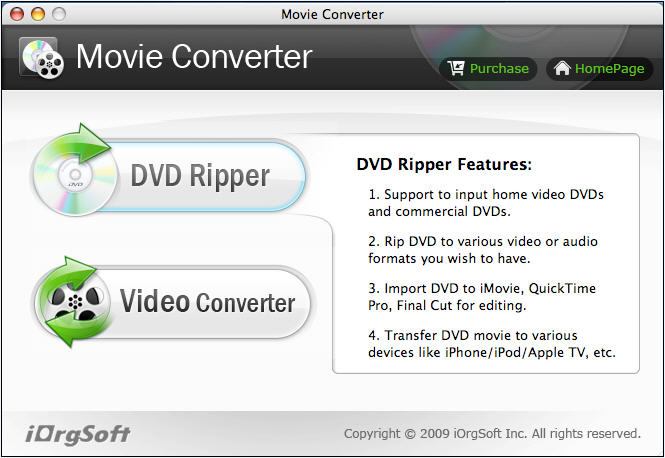 Movie Converter for Mac 2.3.8